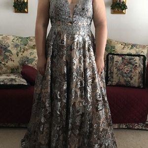 Dresses & Skirts - Long A-line prom/formal dress